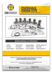Каталог наборов для капремонта двигателя CGR Ghinassi (PDF)