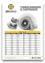 Каталог турбин и картриджей CGR Ghinassi (PDF)