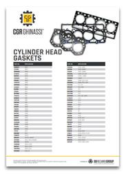 Каталог Прокладок ГБЦ для двигателей Caterpillar CGR Ghinassi (PDF)